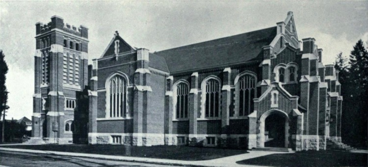 St. Giles (85 Holton Ave S) photographed by Stewart & Witton, Hamilton