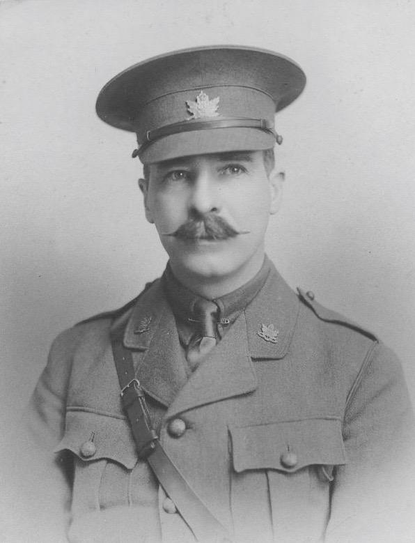 Lieutenant-Colonel Walter Wilson Stewart of the architecture firm Stewart & Witton