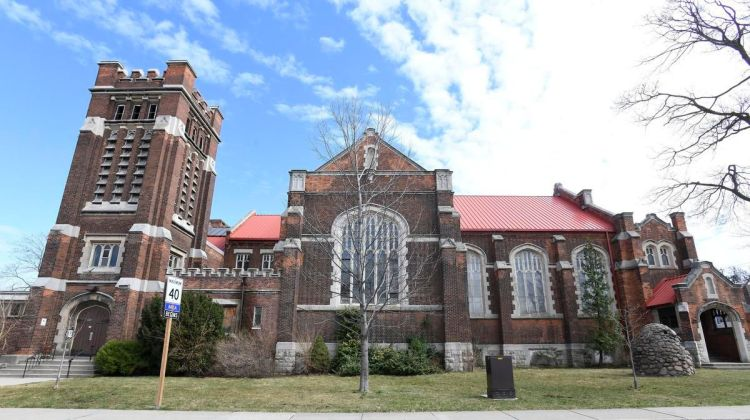 St. Giles (85 Holton Ave S) photographed by Cathie Coward for the Hamilton Spectator
