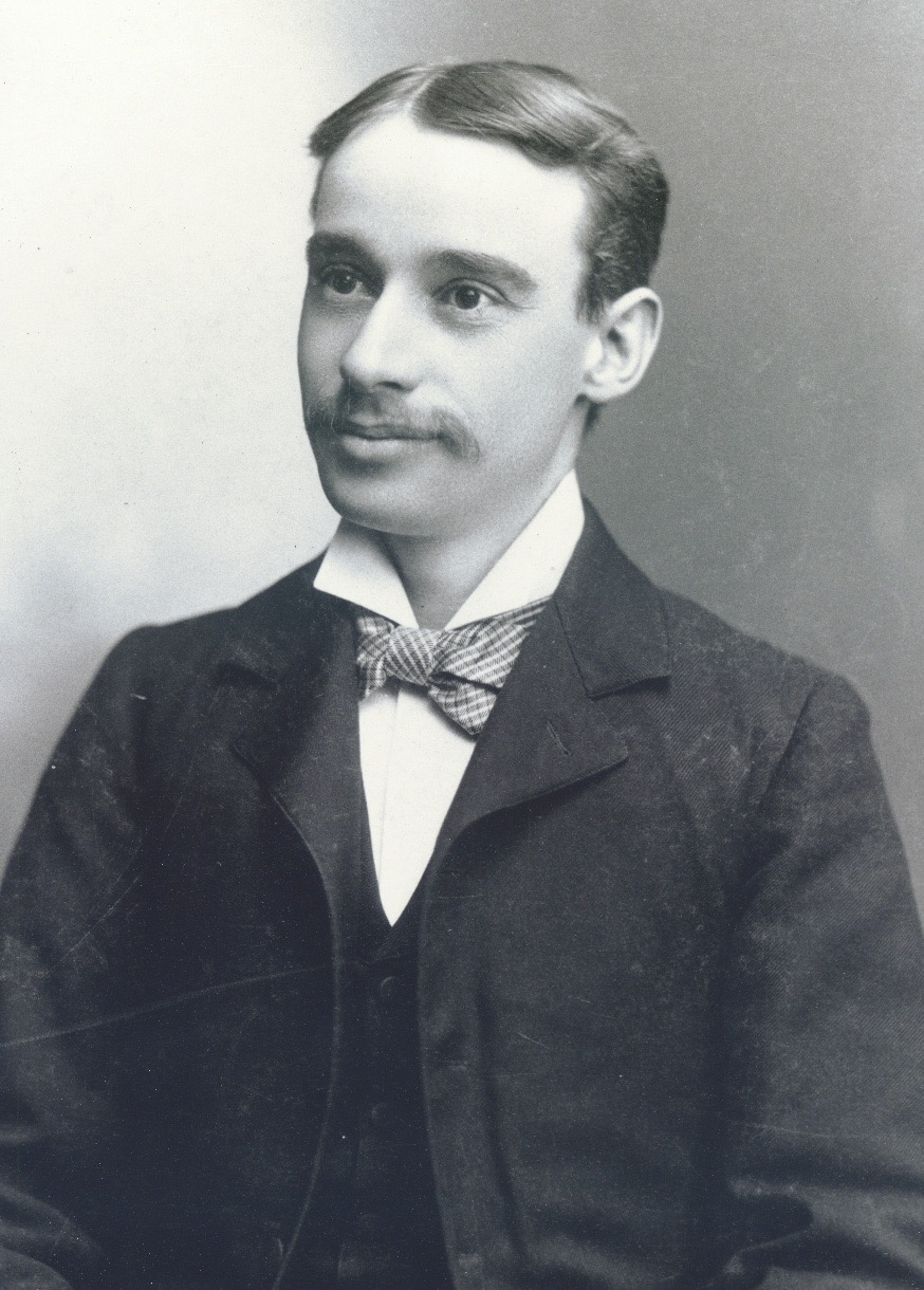 Portrait of William Palmer Witton of the architecture firm Stewart & Witton